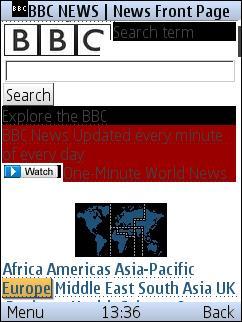 Morange - BBC