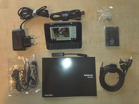 N900 With Included Accessories