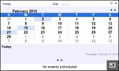 N900 - Google Calendar