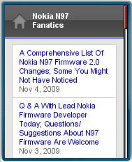 N97 Fanatics Mobile Site