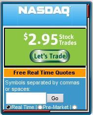 NASDAQ Mobile Site