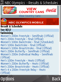 Small font on NBCOlympics
