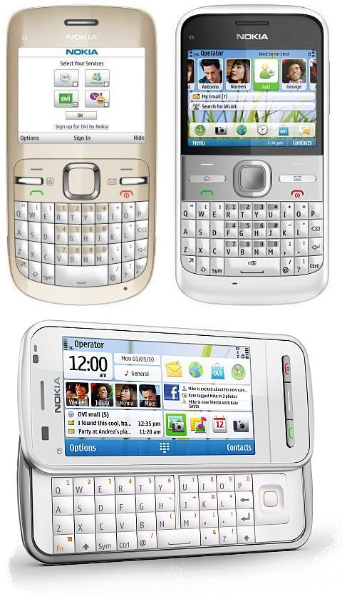 Nokia QWERTY Trio