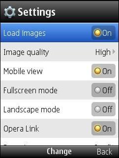 Opera Mini 5 Beta 2 - Opera Link