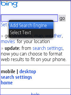 Opera Mini 5 Non-Touch Add Seach 1