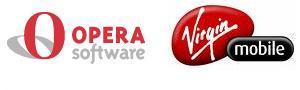Opera and Virgin Logos
