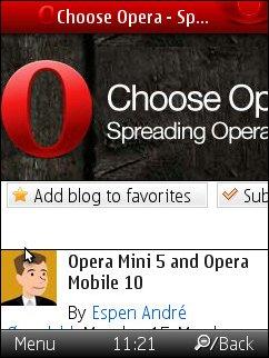 Opera Mini 5 Final