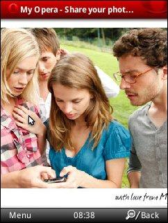 Opera Mobile 10 Beta 3 on Nokia N95-3