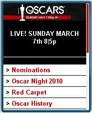 Oscars.com Mobile