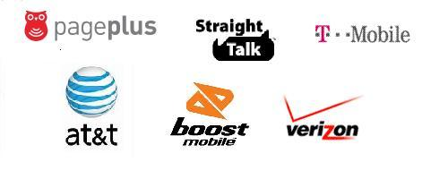 Prepaid Operator Logos
