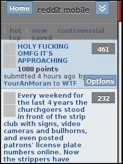 Reddit Mobile