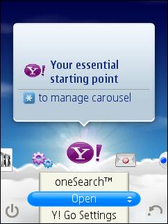 Yahoo Go Carousel