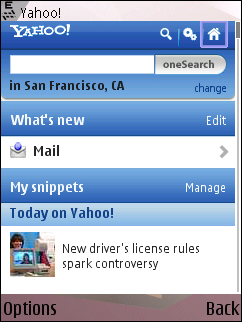 Yahoo - New Mobile Portal