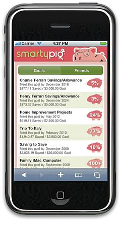 SmartyPig Mobile