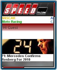 SpeedTv.com Mobile Web Site