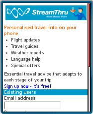 StreamThru Mobile