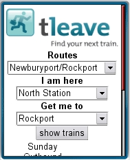 TLeave - Boston MBTA