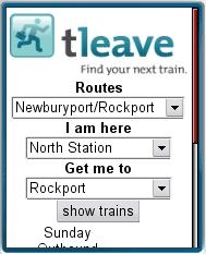 TLeave - Boston MBTA