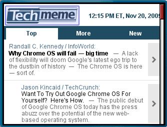 Techmeme Middle Web Site