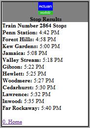 Detailed Schedule