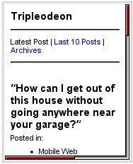 Tripleodeon