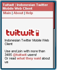 TuiTwit Mobile Web Twitter Client