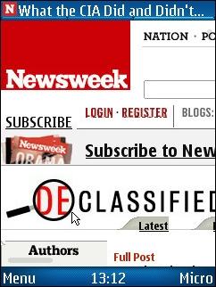 UCWEB 7 - Newsweek