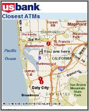 US Bank ATM Locator
