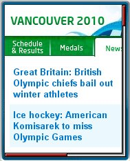 Vancouver  2010 Mobile
