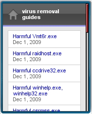 Virus Removal Guides