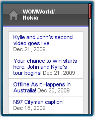 WOMWorld Mobile Site