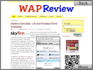Skyfire browser - wapreview.com