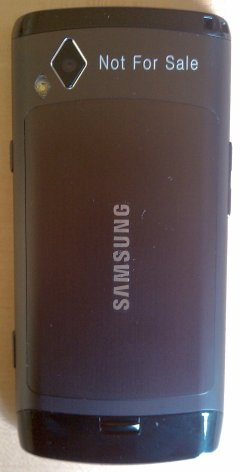 Samsung Wave - Back