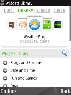 Widget Library
