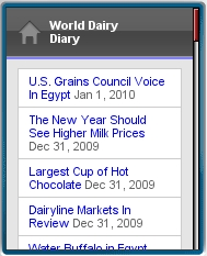 World Dairy Diary Mobile