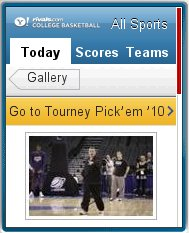 Yahoo NCAA Tourney