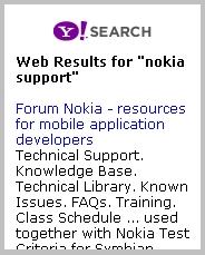 Y! Web Search Results Image