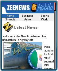 ZeeNews Mobile