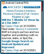 Android Central Mobile