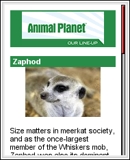 Animal Planet Mobile