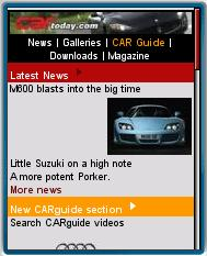 CARtoday - Mobile Web Magazine