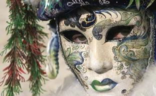 Masked Carnival Woman