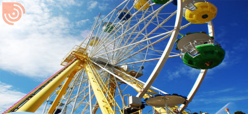 Carnival Wheel Logo