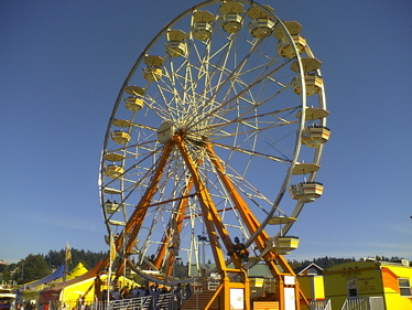 Ferris wheel at Puyallup (OR) Fair