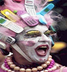 Carnival Cellphone Man