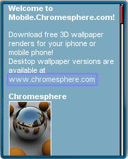Chromesphere Mobile Downloads