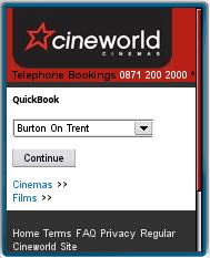 cineworld Mobile