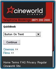 cineworld Mobile