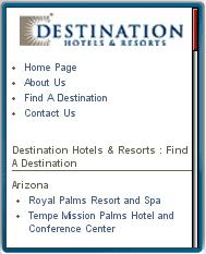 Destination Hotels Mobile