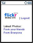 Flickr Mobile